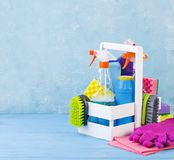 Cleaning service concept. stock photography