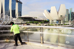 Cleaning service, Singapore Stock Image