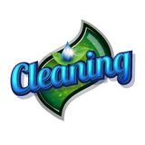 Cleaning service - vintage sign Royalty Free Stock Image