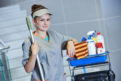 Cleaning services Royalty Free Stock Images