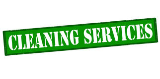 Cleaning services. Rubber stamp with text cleaning services inside,  illustration Royalty Free Stock Image