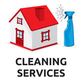 Cleaning services Stock Images