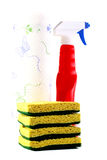 cleaning set Fotografia Royalty Free