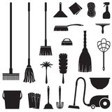 Cleaning set royalty free illustration