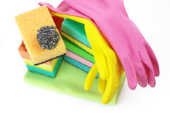 Cleaning set Royalty Free Stock Photography