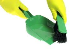 Cleaning set isolated on white background Stock Image