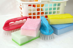 Cleaning  set work Royalty Free Stock Photo