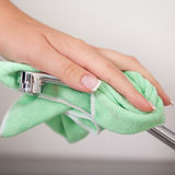 Cleaning sink Stock Images