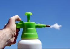 Cleaning sky Royalty Free Stock Photo