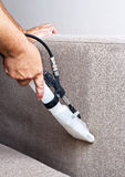 Cleaning sofas Stock Photography