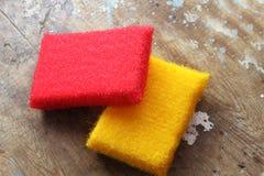 Cleaning sponge Stock Photos