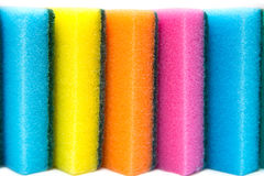 Cleaning sponge isolated Royalty Free Stock Photography