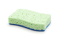 Cleaning sponge stock photo