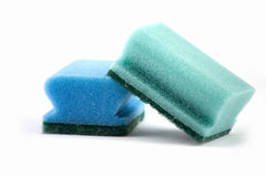 Cleaning sponges Stock Photos