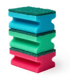 Cleaning sponges Royalty Free Stock Image