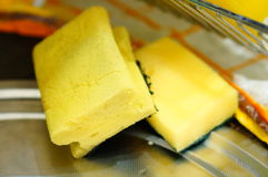 Cleaning sponges Stock Photo