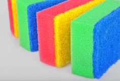 Cleaning sponges Royalty Free Stock Photos