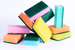 Cleaning sponges Stock Image