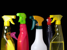 Cleaning spray royalty free stock image