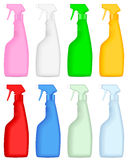 Cleaning spray bottle Stock Photo