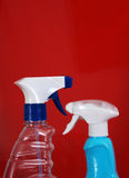 Cleaning spray bottle Royalty Free Stock Images