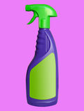 Cleaning Spray With Copy Space Royalty Free Stock Photography