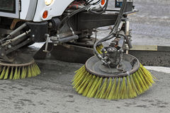 Cleaning of streets Stock Photo