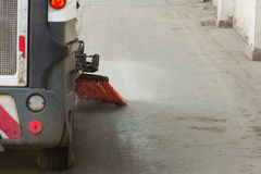 Cleaning streets Royalty Free Stock Photo