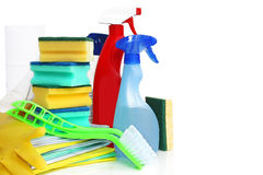 Cleaning stuff Stock Photography