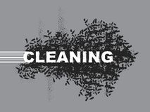 Cleaning Royalty Free Stock Images