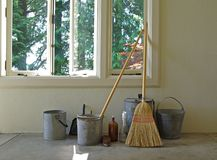Free Cleaning Supplies Royalty Free Stock Image - 2756816