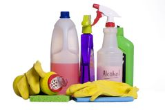 Cleaning Supplies 5 Stock Photo