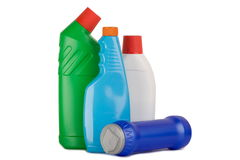 Cleaning supplies Royalty Free Stock Image