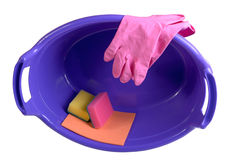 Cleaning supplies Stock Photos