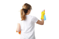Cleaning at surface Stock Photography