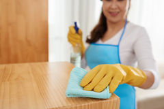 Cleaning surface royalty free stock photography