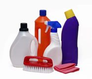 Cleaning team. Royalty Free Stock Photo