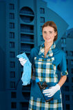 Cleaning Time Royalty Free Stock Images