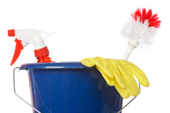 Cleaning tools Stock Photos