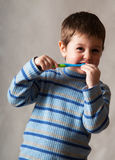 Cleaning tooth Stock Photos