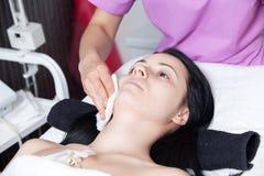 cleaning twarzy skóra Obrazy Royalty Free
