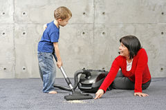 Cleaning up royalty free stock photo