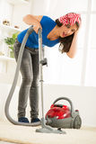 Cleaning Up The House Stock Photos
