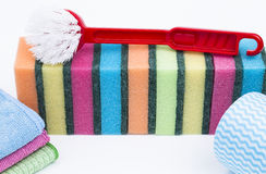 Cleaning utensil Royalty Free Stock Photos