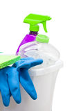 Cleaning utensils Royalty Free Stock Photos
