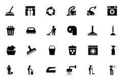 Cleaning Vector Icons 1 Stock Image