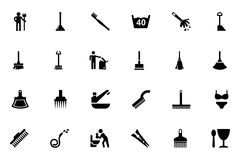 Cleaning Vector Icons 3 Stock Photos