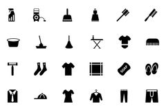Cleaning Vector Icons 4 Royalty Free Stock Photos
