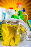 Cleaning, washing concept Royalty Free Stock Photography