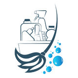 Cleaning and washing symbol Stock Image